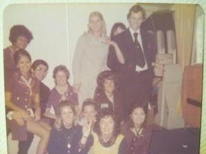 747 Cabin Crew 1972
